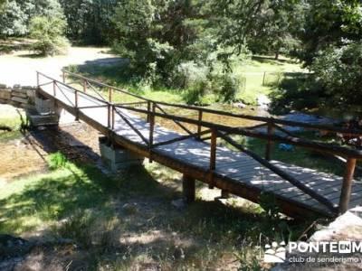Las Pesquerías Reales - Senderismo Segovia (Ruta de las Pesquerías Reales); actividades de campame